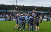 30 September 2017; Kevin McManamon of St. Judes signs autographs for young supporters following the Dublin County Senior Football Championship Quarter-Final match beween Cuala and St Jude's at Parnell Park in Dublin. Photo by David Fitzgerald/Sportsfile