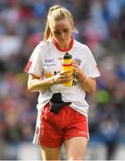 24 September 2017; A dejected Neamh Woods of Tyrone after the TG4 Ladies Football All-Ireland Intermediate Championship Final match between Tipperary and Tyrone at Croke Park in Dublin. Photo by Brendan Moran/Sportsfile