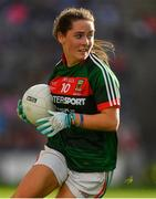 24 September 2017; Doireann Hughes of Mayo during the TG4 Ladies Football All-Ireland Senior Championship Final match between Dublin and Mayo at Croke Park in Dublin. Photo by Brendan Moran/Sportsfile