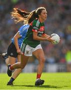 24 September 2017; Niamh Kelly of Mayo during the TG4 Ladies Football All-Ireland Senior Championship Final match between Dublin and Mayo at Croke Park in Dublin. Photo by Brendan Moran/Sportsfile