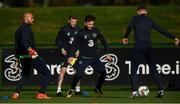 2 October 2017; Republic of Ireland's Scott Hogan during squad training at the FAI National Training Centre in Abbotstown, Dublin. Photo by Stephen McCarthy/Sportsfile