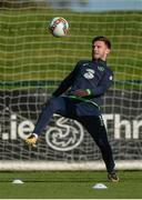 2 October 2017; Republic of Ireland's Scott Hogan during squad training at the FAI National Training Centre in Abbotstown, Dublin. Photo by Piaras Ó Mídheach/Sportsfile
