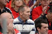 22 July 2012; Former Down player Mickey Linden watches the game from the stands. Ulster GAA Football Senior Championship Final, Donegal v Down, St. Tiernach's Park, Clones, Co. Monaghan. Picture credit: Oliver McVeigh / SPORTSFILE