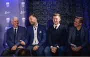 2 October 2017; Bord Gáis Energy Judges, from left, Ger Cunningham, Ken McGrath, Joe Canning and Mícheál Ó Domhnaill at the Bord Gáis Energy Team of the Year Awards in Croke Park. Photo by Piaras Ó Mídheach/Sportsfile