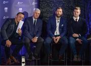 2 October 2017; Bord Gáis Energy Judges, from left, Mícheál Ó Domhnaill, Ger Cunningham, Ken McGrath and Joe Canning at the Bord Gáis Energy Team of the Year Awards in Croke Park. Photo by Piaras Ó Mídheach/Sportsfile