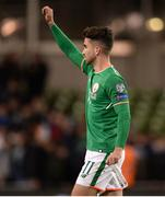 6 October 2017; Sean Maguire of Republic of Ireland following the FIFA World Cup Qualifier Group D match between Republic of Ireland and Moldova at Aviva Stadium in Dublin. Photo by Cody Glenn/Sportsfile