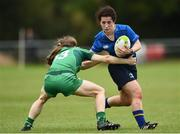 7 October 2017; Grace Kelly of Leinster is tackled by Beibhinn Parson of Connacht during the U18 Girls Interprovincial match between Leinster and Connacht at MU Barnhall RFC in Leixlip, Co Kildare. Photo by Seb Daly/Sportsfile