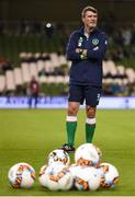 6 October 2017; Republic of Ireland assistant manager Roy Keane during the FIFA World Cup Qualifier Group D match between Republic of Ireland and Moldova at Aviva Stadium in Dublin. Photo by Stephen McCarthy/Sportsfile