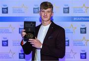 7th October 2017; Electric Ireland present Galway's Darren Morrissey with his 2017 Electric Ireland GAA Minor Star Award as voted for by a panel of GAA legends which includes Oisin McConville, Andy McEntee, Donal Og Cusack and Mattie Kenny. Sponsor to the GAA Minor Championships, Electric Ireland today honoured 15 minor players from, football and 15 players from hurling at the inaugural annual Electric Ireland Minor Star Awards in Croke Park #GAAThisIsMajor. Photo by Eóin Noonan/Sportsfile