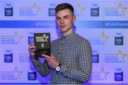 7th October 2017; Electric Ireland present Dublin's Sean Currie with his 2017 Electric Ireland GAA Minor Star Award as voted for by a panel of GAA legends which includes Oisin McConville, Andy McEntee, Donal Og Cusack and Mattie Kenny. Sponsor to the GAA Minor Championships, Electric Ireland today honoured 15 minor players from, football and 15 players from hurling at the inaugural annual Electric Ireland Minor Star Awards in Croke Park #GAAThisIsMajor. Photo by Eóin Noonan/Sportsfile