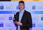 7th October 2017; Electric Ireland present Dublin's Peadar Ó Cofaigh Byrne with his 2017 Electric Ireland GAA Minor Star Award as voted for by a panel of GAA legends which includes Oisin McConville, Andy McEntee, Donal Og Cusack and Mattie Kenny. Sponsor to the GAA Minor Championships, Electric Ireland today honoured 15 minor players from, football and 15 players from hurling at the inaugural annual Electric Ireland Minor Star Awards in Croke Park #GAAThisIsMajor. Photo by Eóin Noonan/Sportsfile