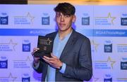7th October 2017; Electric Ireland present Kerry's David Clifford with his 2017 Electric Ireland GAA Minor Star Award as voted for by a panel of GAA legends which includes Oisin McConville, Andy McEntee, Donal Og Cusack and Mattie Kenny. Sponsor to the GAA Minor Championships, Electric Ireland today honoured 15 minor players from, football and 15 players from hurling at the inaugural annual Electric Ireland Minor Star Awards in Croke Park #GAAThisIsMajor. Photo by Eóin Noonan/Sportsfile