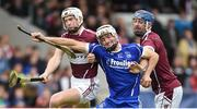 8 October 2017; Pa Burke of Thurles Sarsfields in action against Ciaran Cowan and Brendan Maher of  Borris-Ileigh, during the Tipperary County Senior Hurling Championship Final match between Thurles Sarsfields and Borris-Ileigh, at Semple Stadium in Thurles, Co Tipperary. Photo by Matt Browne/Sportsfile