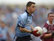 6 October 2002; Alan Brogan, Dublin, Football. Picture credit; Damien Eagers / SPORTSFILE *EDI*