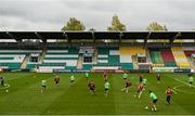 8 October 2017; A general view during Republic of Ireland U21 squad training at Tallaght Stadium in Dublin. Photo by David Fitzgerald/Sportsfile