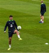 8 October 2017; Joe Quigley of Republic of Ireland U21 during squad training at Tallaght Stadium in Dublin. Photo by David Fitzgerald/Sportsfile