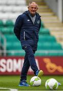 8 October 2017; Republic of Ireland U21 manager Noel King during squad training at Tallaght Stadium in Dublin. Photo by David Fitzgerald/Sportsfile