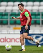 8 October 2017; Josh Cullen of Republic of Ireland U21 during squad training at Tallaght Stadium in Dublin. Photo by David Fitzgerald/Sportsfile
