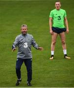 8 October 2017; Republic of Ireland U21 coach Mark Kinsella during squad training at Tallaght Stadium in Dublin. Photo by David Fitzgerald/Sportsfile