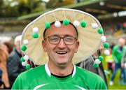 8 October 2017; Fermanagh supporter Luke Padden after the TG4 Ladies Football All-Ireland Junior Championship Final Replay between Derry and Fermanagh at St Tiernach's Park in Clones, Co Monaghan. Photo by Oliver McVeigh/Sportsfile