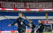 8 October 2017; Republic of Ireland's James McClean during squad training at Cardiff City Stadium in Cardiff, Wales. Photo by Stephen McCarthy/Sportsfile