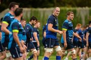 9 October 2017; Leinster's Devin Toner during squad training at Thornfields in UCD, Belfield, Dublin. Photo by Piaras Ó Mídheach/Sportsfile
