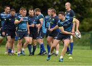 9 October 2017; Leinster's Robbie Henshaw during squad training at Thornfields in UCD, Belfield, Dublin. Photo by Piaras Ó Mídheach/Sportsfile