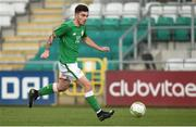 9 October 2017; Ryan Manning of Republic of Ireland during the UEFA European U21 Championship Qualifier match between Republic of Ireland and Israel at Tallaght Stadium in Dublin. Photo by Matt Browne/Sportsfile