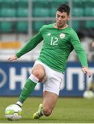 9 October 2017; Joseph Quigley of Republic of Ireland during the UEFA European U21 Championship Qualifier match between Republic of Ireland and Israel at Tallaght Stadium in Dublin. Photo by Matt Browne/Sportsfile
