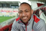 10 October 2017; Christian Lealiifano of Ulster after a press conference at Kingspan Stadium in Belfast. Photo by Oliver McVeigh/Sportsfile