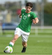 10 October 2017; Aaron Bolger of Republic of Ireland during the UEFA European U19 Championship Qualifier match between Republic of Ireland and Serbia at RSC in Waterford. Photo by Matt Browne/Sportsfile