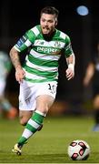 10 October 2017; Brandon Miele of Shamrock Rovers during the Irish Daily Mail FAI Cup Semi-Final Replay match between Shamrock Rovers and Dundalk at Tallaght Stadium in Tallaght, Dublin. Photo by Stephen McCarthy/Sportsfile