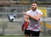12 October 2017; Stuart McCloskey during the Ulster Rugby Captain's Run at Kingspan Stadium in Belfast. Photo by John Dickson/Sportsfile