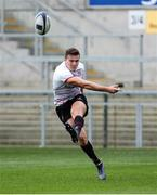 12 October 2017; Jacob Stockdale during the Ulster Rugby Captain's Run at Kingspan Stadium in Belfast. Photo by John Dickson/Sportsfile