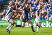 14 October 2017; Barry Daly of Leinster is tackled by Frans Steyn of  Montpellier during the European Rugby Champions Cup Pool 3 Round 1 match between Leinster and Montpellier at the RDS Arena in Dublin. Photo by Matt Browne/Sportsfile