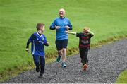 14 October 2017; parkrun Ireland in partnership with Vhi, added their 81st event on Saturday, October 14th, with the introduction of the Monaghan Town parkrun. parkruns take place over a 5km course weekly, are free to enter and are open to all ages and abilities, providing a fun and safe environment to enjoy exercise. To register for a parkrun near you visit www.parkrun.ie. New registrants should select their chosen event as their home location. You will then receive a personal barcode which acts as your free entry to any parkrun event worldwide. Photo by Oliver McVeigh/Sportsfile