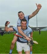 15 October 2017; Alan Dempsey and David Breen of Na Piarsaigh celebrate after the Limerick County Senior Hurling Championship Final match between Na Piarsaigh and Kilmallock at the Gaelic Grounds in Limerick. Photo by Diarmuid Greene/Sportsfile