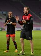 14 October 2017; Oyonnax attack coach Mike Prendergast ahead of the European Rugby Challenge Cup Pool 5 Round 1 match between Oyonnax and Connacht at Stade de Geneve in Geneva, Switzerland. Photo by Sam Barnes/Sportsfile
