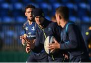 17 October 2017; Jonathan Sexton of Leinster during Leinster Rugby Squad Training at Donnybrook Stadium in Dublin. Photo by Cody Glenn/Sportsfile