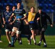 17 October 2017; James Ryan, left, and Jonathan Sexton of Leinster during Leinster Rugby Squad Training at Donnybrook Stadium in Dublin. Photo by Cody Glenn/Sportsfile