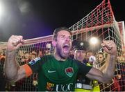 17 October 2017; Alan Bennett of Cork City celebrates after the SSE Airtricity League Premier Division match between Cork City and Derry City at Turners Cross, in Cork.  Photo by Eóin Noonan/Sportsfile