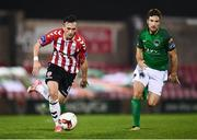 17 October 2017; Aaron McEneff of Derry City during the SSE Airtricity League Premier Division match between Cork City and Derry City at Turners Cross in Cork. Photo by Stephen McCarthy/Sportsfile