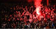 17 October 2017; Cork City supporters during the SSE Airtricity League Premier Division match between Cork City and Derry City at Turners Cross in Cork. Photo by Stephen McCarthy/Sportsfile