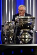 19 October 2017; RTÉ analyst Pat Spillane during the 2018 GAA Championship Draw at RTÉ Studios in Donnybrook, Dublin. Photo by Piaras Ó Mídheach/Sportsfile