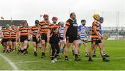 1 October 2017; Players in the pre-match parade before the Kildare County Senior Hurling Championship Final match between Ardclough and Naas at St Conleth's Park in Newbridge, Co. Kildare. Photo by Piaras Ó Mídheach/Sportsfile