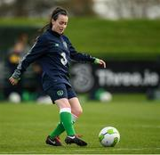 20 October 2017; Roma McLaughlin during a Republic of Ireland training session at the FAI National Training Centre in Abbotstown, Dublin. Photo by Stephen McCarthy/Sportsfile