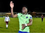 20 October 2017; Chiedozie Ogbene of Limerick FC celebrates after the SSE Airtricity League Premier Division match between Limerick FC and Galway United at Market's Field in Limerick. Photo by Matt Browne/Sportsfile