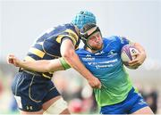 21 October 2017; Eoin McKeon of Connacht is tackled by Pierce Phillips of Worcester Warriors during the European Rugby Champions Cup Pool 5 Round 2 match between Connacht and Worcester Warriors at the Sportsground in Galway. Photo by Matt Browne/Sportsfile