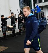 21 October 2017; James Tracy of Leinster ahead of the European Rugby Champions Cup Pool 3 Round 2 match between Glasgow Warriors and Leinster at Scotstoun in Glasgow, Scotland. Photo by Ramsey Cardy/Sportsfile