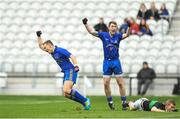 22 October 2017; Stephen Sherlock of St. Finbarr's celebrates after scoring his side's first goal during the Cork County Senior Fooball Championship Final Replay match between St Finbarr's and Nemo Rangers at Páirc Uí Chaoimh in Cork. Photo by Eóin Noonan/Sportsfile